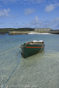 Boat on Inishbofin. S5PRO, 18-200mm. by Derek Haslam 